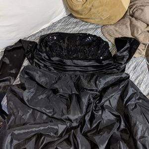 Black trixxie prom dress